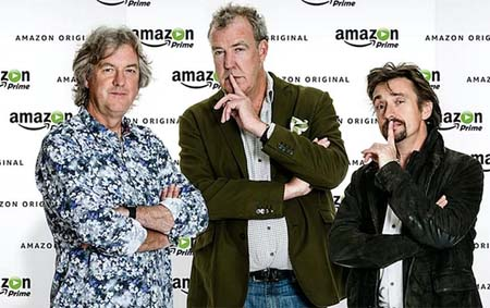 Clarkson's Amazon Top Gear 'upgrade' TV show named 'The Grand Tour'.