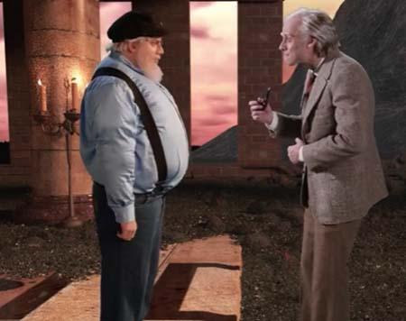 J.R.R. Tolkien versus George R.R. Martin: rap battle!