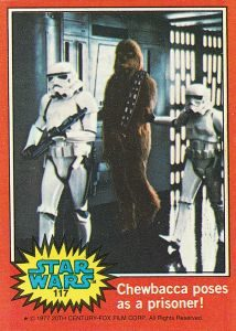 Star Wars The Original Topps Trading Card Series Volume One The Topps Company, Gary Gerani and Lucasfilm Ltd (Abrams Comic Arts, £15.99) © & TM 2016 LUCASFILM LTD. © 2016 The Topps Company Inc. All rights reserved
