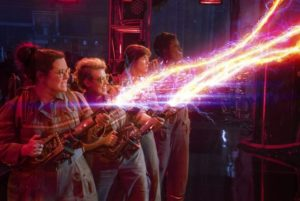 GHOSTBUSTERS paranormal princesses Melissa McCarthy, Kate McKinnon, Kristen Wiig and Leslie Jones are having a blast in blowing away the eerie ghosts. The question remains: will audiences have the same kind of blast?