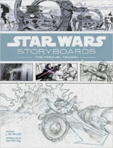 StarWarsPrequelsStoryboards