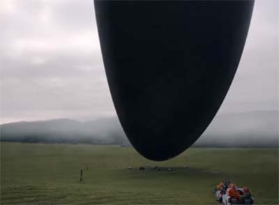 Arrival (new scifi film trailer).