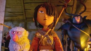 Kubo and company have no STRINGS attached when matching wayward adversaries in Travis Knight's vibrant, friendly-family anime
