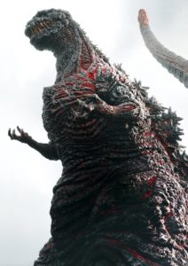 "GODZILLA RESURGENCE has the Japanese raucous reptile stomping his way into the hearts of avid fans looking for the monstrous large lizard to ""strut his stuff"" in the doomed streets of Japan."