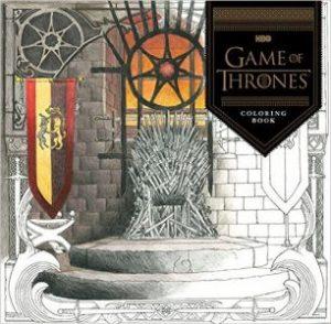 gamethronescoloringbook