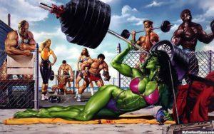 She-Hulk character (c) Marvel