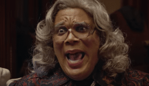 "Halloween's a poppin' and the sketchy scares are not stoppin' as the bug-eyed Perry is a real ""drag"" in the flaccid comedy horror BOO! A MADEA HALLOWEEN"