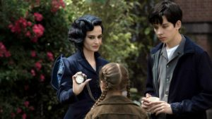 Green's Miss P and her freakish charges make for a disturbing yet hopeful home in Tim Burton's frivolous and frothy children's fantasy MISS PEREGRINE'S HOME FOR PECULIAR CHILDREN