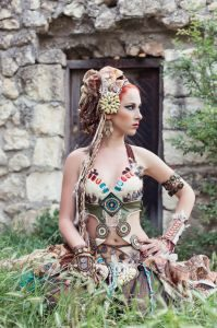 Steampunk & Cosplay Fashion Design & Illustration by Samantha Crossland is published by Walter Foster (£12.99) Image Credit: Shutterstock