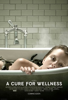 A Cure for Wellness (horror film trailer).