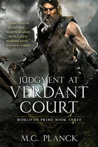 Judgment at Verdant Court (World of Prime, #3) by M.C. Planck (book review)