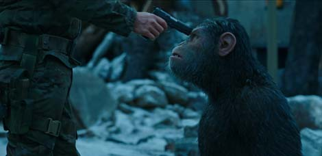 War for the Planet of the Apes (first trailer).