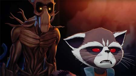 Rocket & Groot (first free episode of Marvel's new online series).