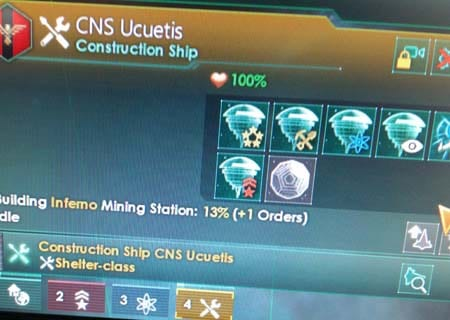 Construction ships that build Dyson Spheres!