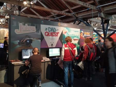 Indie games are big at Rezzed.