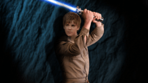 Strong with the Force is young Beiber
