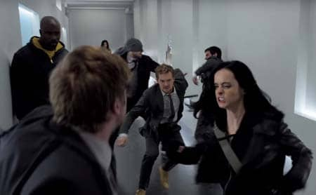 Marvel's The Defenders last trailer.