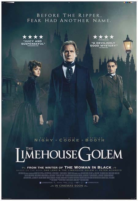 The Limehouse Golem (film trailer: Victorian crime horror).