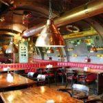 Captain Nemo's Nautilus restaurant. Eat the steampunk!