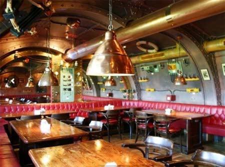 Captain Nemo's Nautilus restaurant.