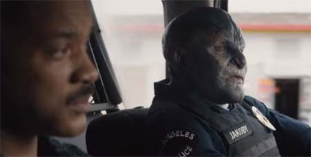Bright (Netflix trailer): imagine Lord of the Rings fast-forwarded to 2017, meeting The Wire.