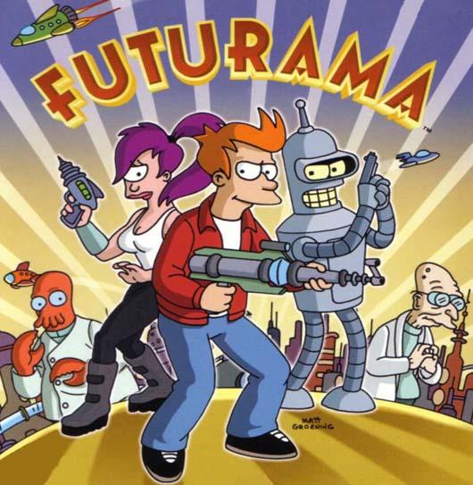 Futurama goes fantasy-tic.
