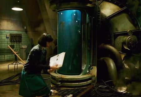 The Shape of Water (Guillermo del Toro's new scifi flick).