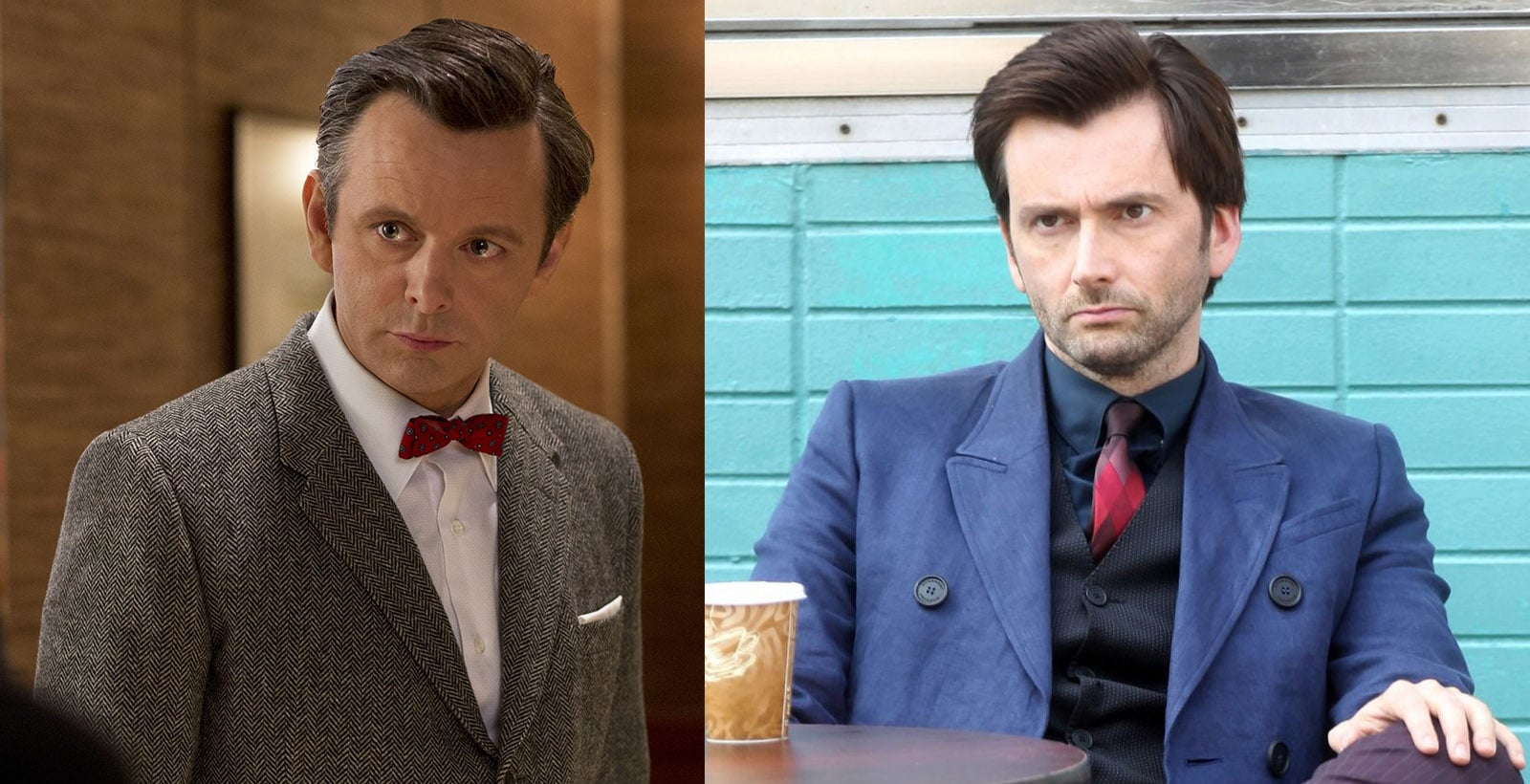 Good Omens TV series Hamm's it up.