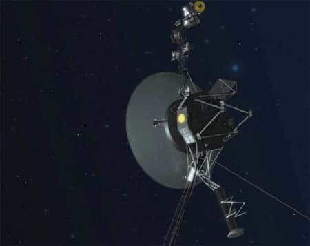 Voyager spacecraft just keeps on trucking.