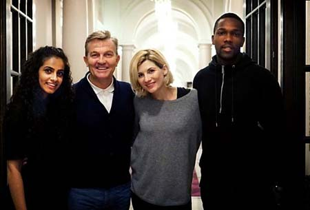 Who's who in all new Who? Doctor Who cast revealed for 2018.