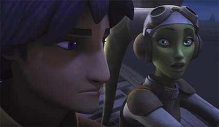 Star Wars Rebels (season 4 trailer): brings the Palpatine.